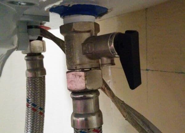 Предпазен вентил на бойлер
